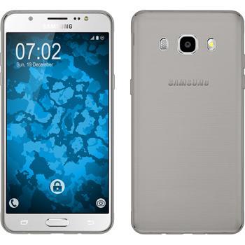 Silikon Hülle Galaxy J5 (2016) J510 Slimcase grau
