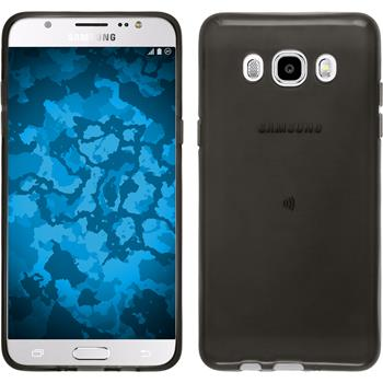Silikon Hülle Galaxy J5 (2016) J510 transparent schwarz