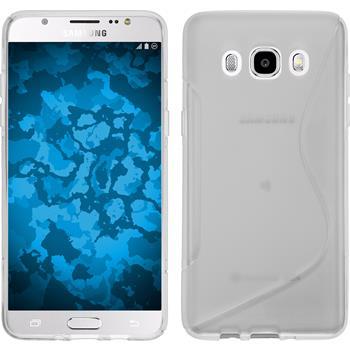 Silikon Hülle Galaxy J5 (2016) J510 S-Style clear