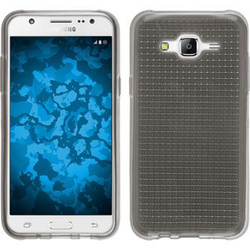 Silikon Hülle Galaxy J5 (J500) Iced grau