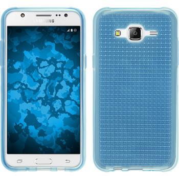 Silikon Hülle Galaxy J5 (J500) Iced hellblau