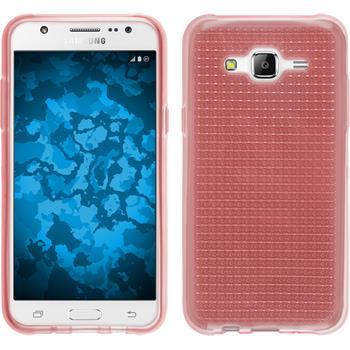 Silikon Hülle Galaxy J5 (J500) Iced rosa