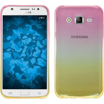 Silikon Hülle Galaxy J5 (J500) Ombrè Design:01
