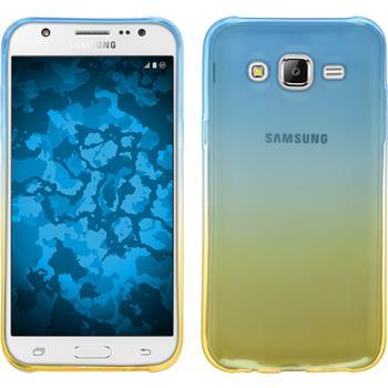 Silikon Hülle Galaxy J5 (J500) Ombrè Design:02