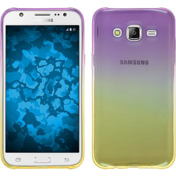 Silikon Hülle Galaxy J5 (J500) Ombrè Design:05