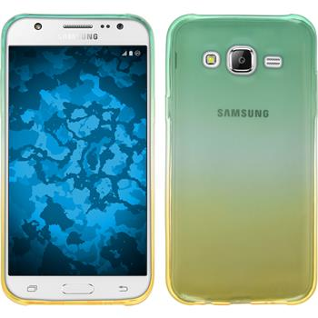 Silikonhülle für Samsung Galaxy J7 Ombrè Design:03