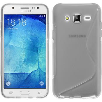 Silikonhülle für Samsung Galaxy J7 S-Style clear