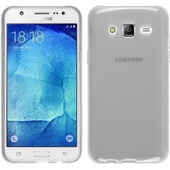 Silikon Hülle Galaxy J7 transparent weiß