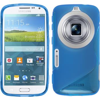 Silicone Case for Samsung Galaxy K Zoom S-Style blue