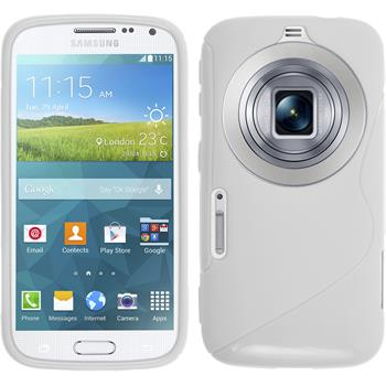 Silicone Case for Samsung Galaxy K Zoom S-Style white
