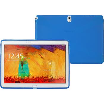 Silicone Case for Samsung Galaxy Note 10.1 2014 X-Style blue