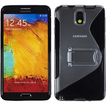 Silicone Case for Samsung Galaxy Note 3  black