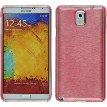 Silicone Case for Samsung Galaxy Note 3 brushed pink