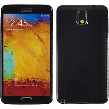 Silikon Hülle Galaxy Note 3 Candy schwarz