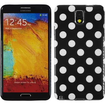 Silicone Case for Samsung Galaxy Note 3 Polkadot Design:01