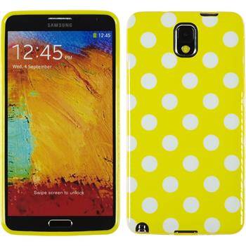 Silicone Case for Samsung Galaxy Note 3 Polkadot Design:04