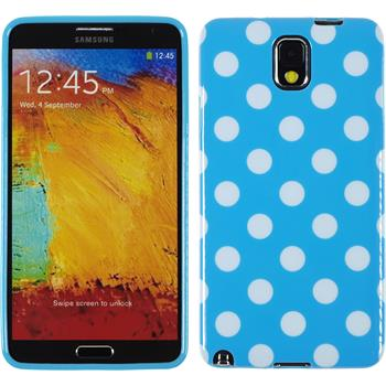 Silicone Case for Samsung Galaxy Note 3 Polkadot Design:08