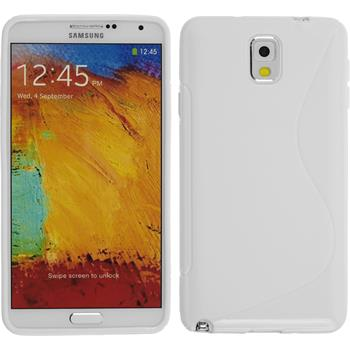 Silicone Case for Samsung Galaxy Note 3 S-Style white