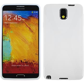 Silicone Case for Samsung Galaxy Note 3 X-Style white