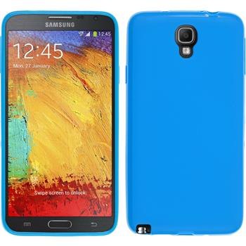 Silicone Case for Samsung Galaxy Note 3 Neo matt blue