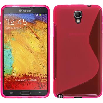 Silicone Case for Samsung Galaxy Note 3 Neo S-Style hot pink