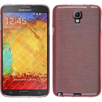 Silikonhülle für Samsung Galaxy Note 3 Neo brushed rosa
