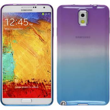 Silikon Hülle Galaxy Note 3 Ombrè Design:04