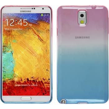 Silikonhülle für Samsung Galaxy Note 3 Ombrè Design:06