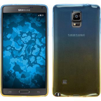 Silikon Hülle Galaxy Note 4 Ombrè Design:02