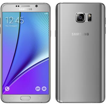 Silikonhülle für Samsung Galaxy Note 5 Slimcase clear