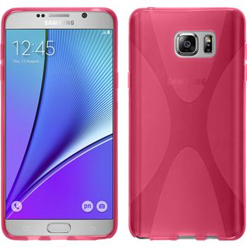 Silikon Hülle Galaxy Note 5 X-Style pink