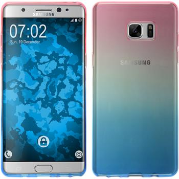 Silikon Hülle Galaxy Note 7 Ombrè Design:06