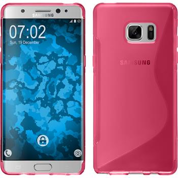 Silikon Hülle Galaxy Note 7 S-Style pink
