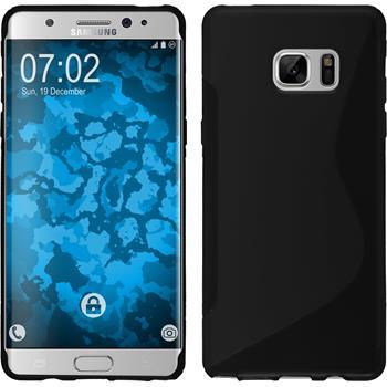Silikon Hülle Galaxy Note 7 S-Style schwarz