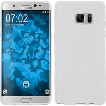 Silikon Hülle Galaxy Note 7 X-Style weiß