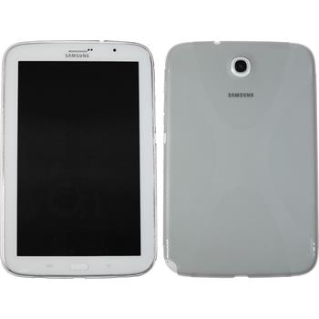 Silicone Case for Samsung Galaxy Note 8.0 X-Style gray