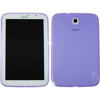Silicone Case for Samsung Galaxy Note 8.0 X-Style purple