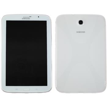 Silicone Case for Samsung Galaxy Note 8.0 X-Style transparent