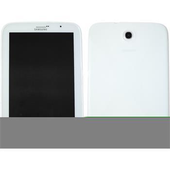 Silikon Hülle Galaxy Note 8.0 X-Style weiß + 2 Schutzfolien