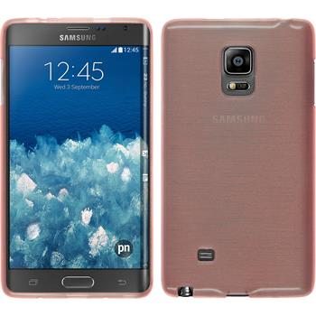 Silicone Case for Samsung Galaxy Note Edge brushed pink