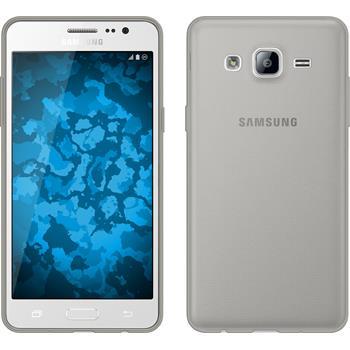 Silikonhülle für Samsung Galaxy On5 Slimcase grau