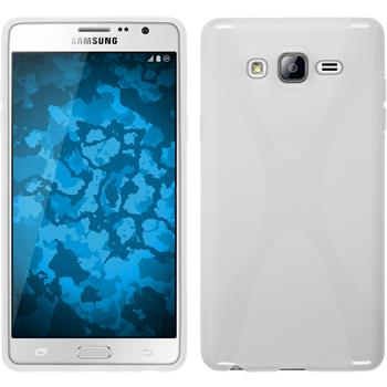 Silikon Hülle Galaxy On7 X-Style weiß