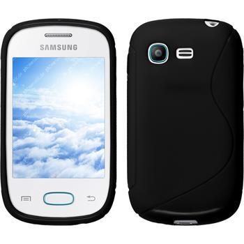 Silikonhülle für Samsung Galaxy Pocket Neo S-Style schwarz