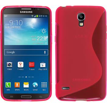 Silicone Case for Samsung Galaxy Round S-Style hot pink