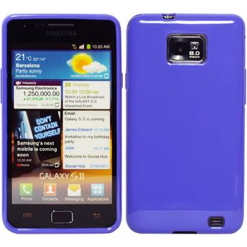 Silicone Case for Samsung Galaxy S2  purple