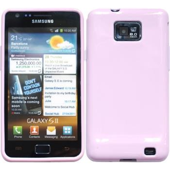 Silicone Case for Samsung Galaxy S2  pink