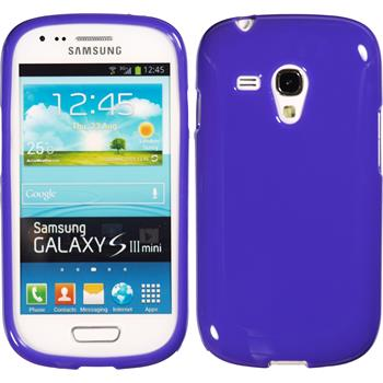 Silicone Case for Samsung Galaxy S3 Mini Candy purple