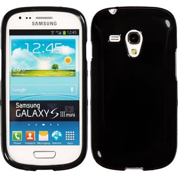 Silicone Case for Samsung Galaxy S3 Mini Candy black