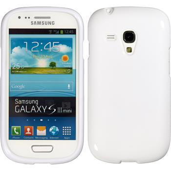 Silicone Case for Samsung Galaxy S3 Mini Candy white