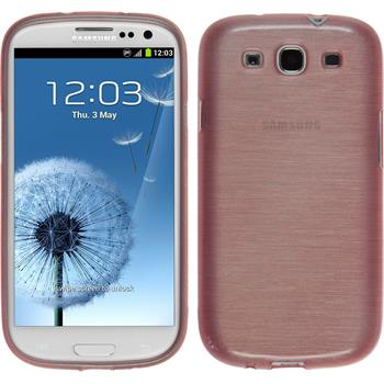 Silicone Case for Samsung Galaxy S3 Neo brushed pink